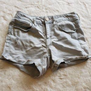 Pants - Light Jean short shorts